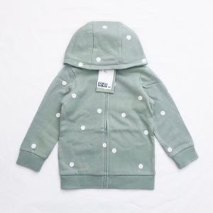 H&M baby polkadot hoodie